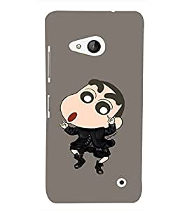 EPICCASE Dancing Ching Shang Mobile Back Case Cover For Microsoft Lumia 550 (Designer Case)