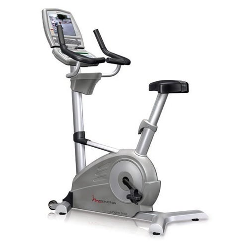 FreeMotion Commercial Upright Exercise Bike with Workout TV
