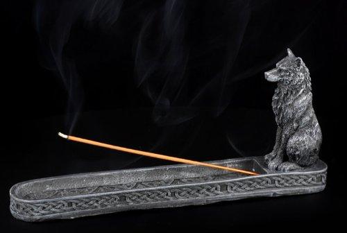 Incensario - negro lobo - Gothic