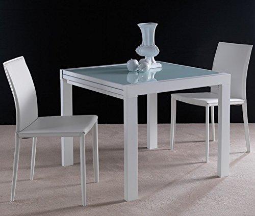 La Seggiola - Tavolo Allungabile Space - Struttura: Bianco - Misure: 120/240x90