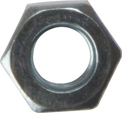 ForgeFix 100NUT5 Corrosion Resistant Hexagon Nut Zinc Plated M5 Bag 100
