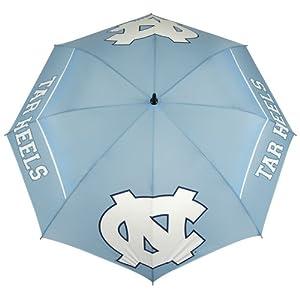 NCAA North Carolina Tarheels 62-Inch WindSheer Hybrid Umbrella by Team Effort