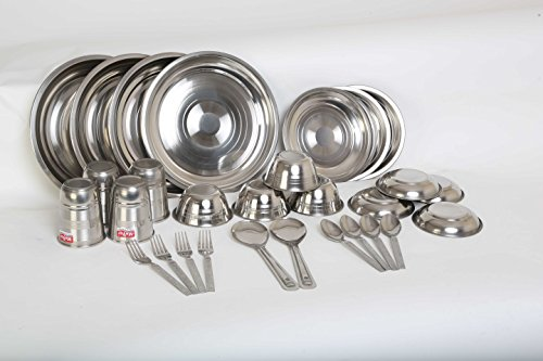 Stainless Steel Dinner Set 30 Pcs