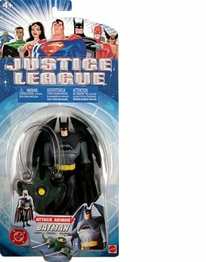 JLA: Justice League Animated > Attack Armor Batman Action Figure - 1