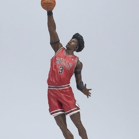 BEN WALLACE / CHICAGO BULLS * RED JERSEY * McFarlane 6 Inch NBA SERIES 12 Sports Picks Action Figure - 1