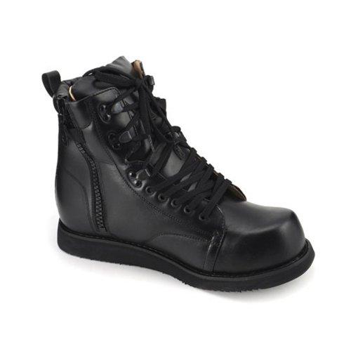 Apis Mt. Emey 504 Men'S Therapeutic Triple Depth Boots: Black 13 Xx-Wide (6E) Lace