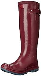 Helly Hansen Women\'s Veierland 2 Rain Boot, Boysenberry/Arctic Grey, 9.5 M US