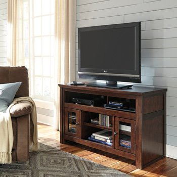 ashley-harpan-w797-28-50-tv-stand-rta-including-4-shelves-and-2-doors-with-adjustable-shelf-simple-p
