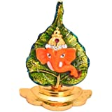 Ganesha Paan Small Decorative Multi Purpose Show Piece By Vyomshop