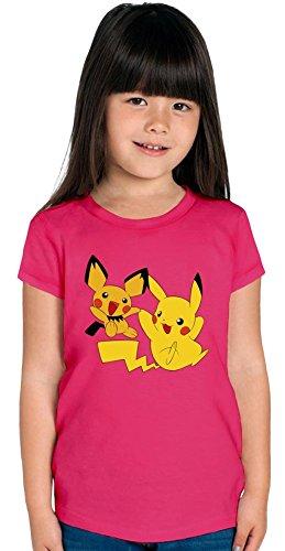 Pichu-Pikachu-Joy-Time-Camiseta-de-las-muchachas