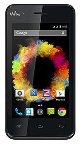 Wiko Sunset Smartphone débloqué 3G+ (Ecran : 4 pouces - 4 Go - Android 4.4 KitKat) Noir