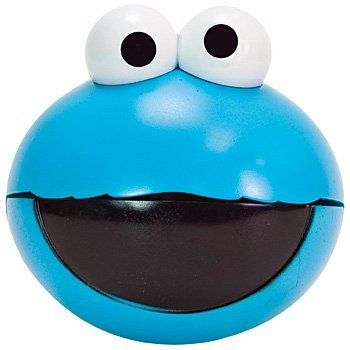 Sesame Street Cookie Monster Snack O Sphere Portable Snack Container - 1