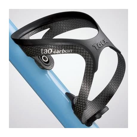 Tacx Tao Carbon Bicycle Water Bottle Cage w/Source Bottle - T6702 (Black)