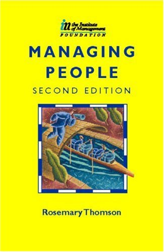 Managing People, Second Edition (CMI Diploma in Management Series)