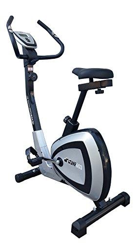 Movi Fitness MF603 Cyclette Magnetica, Silver/Nero