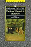 Last Chronicle of Barset (Everyman's Library (Paper)) (0460872346) by Trollope, Anthony