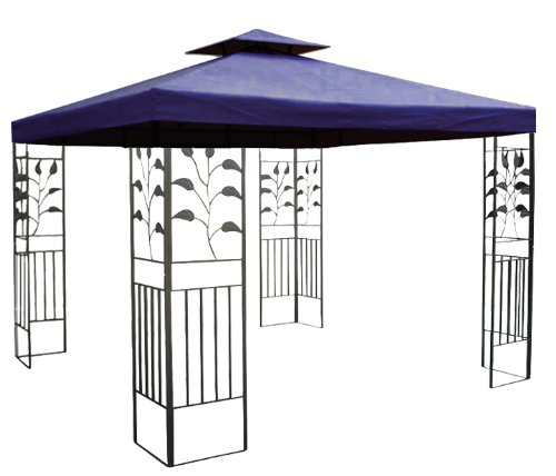 4x3 pavillon blau gartenzelt g nstig bestellen. Black Bedroom Furniture Sets. Home Design Ideas