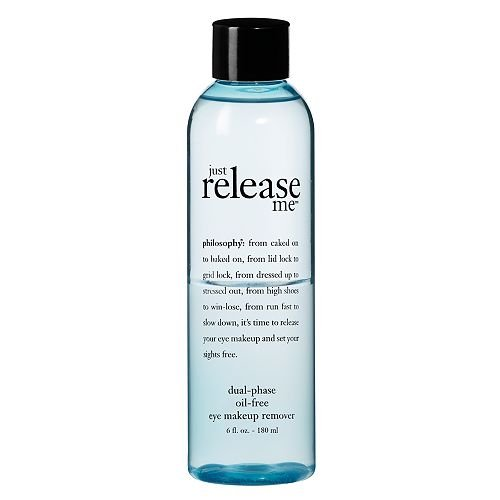 philosophy just release me dual-phase oil-free eye makeup remover 6 fl oz (180 ml)