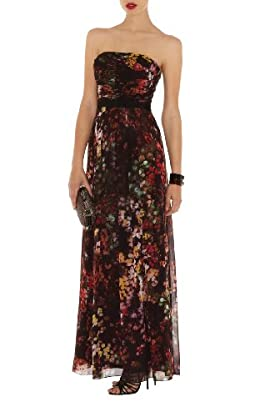 Blossom Print Maxi Dress