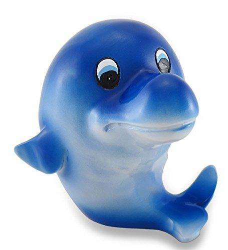Blue Dolphin Savings Piggy Bank