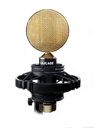 Cascade Microphones Fat Head Ii - Live (Lundahl) - Black/Gold