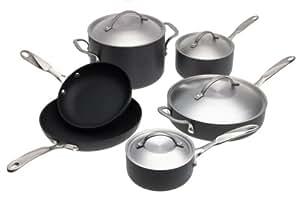 Simply Calphalon Nonstick Aluminum 10-Piece Cookware Set