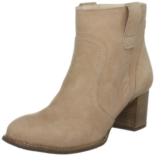 Carvela Women's Shaw Leather Natural Ankle Boots 2706140109 7 UK