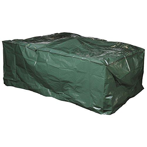 """Telo Protettivo Multiuso PE Verde """"L"""" 230 x """"P""""135 x """"H""""80 cm completo di pratica Borsa Bag con Cerniera Salva Tessuto"""
