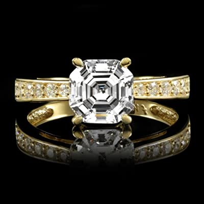 De Geneve Engagement Ring