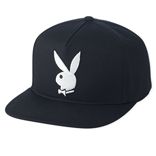 playboy-mens-3d-rabbit-snapback-black