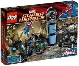 Lego Marvel Super Heroes Spider-Man's Doc Ock Ambush (6873) Amazon.com