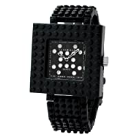 [ナノブロック]nanoblock デコレーション腕時計 デコって遊べるリストウォッチ チェンジベゼル チェンジベルト おまけブロック付 ブラック NAW-3410BW