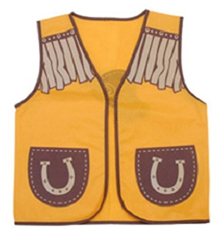Childrens Dress Up Vest - 6 Professions to Choose From Style:Western