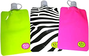 Shark Skinz Disposable Flasks, 3-Pack, Female Designs by Shark