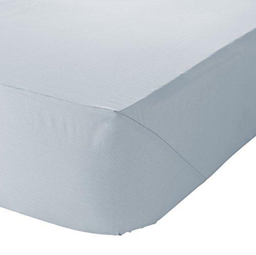 Catherine Lansfield So Soft - Lenzuolo con angoli elasticizzati, per letti king size, blu chiaro, King Size