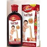 Natural Strengthening Herbal Ayurvedic Baby Massage Oil Dabur Lal Tail 100ml Large Size