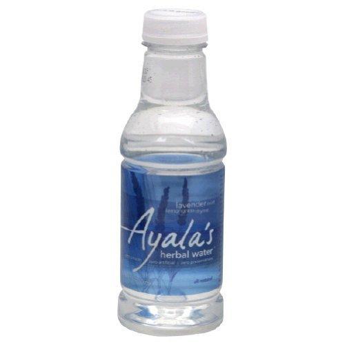 Ayalas Herbal Water Water - Lavender Mint Lemongrass, 16-Ounce (Pack of 12)