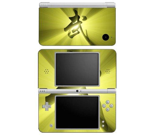 Martial Art Samurai Decorative Protector Skin Decal Sticker for Nintendo DSi XL Handheld Portable Video Game Console