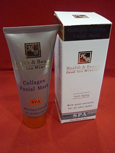 H&B Dead Sea Collagen Firming Facial Mask Firm & Stretch Skin 100Ml All Skin