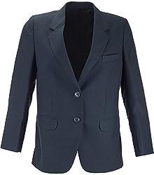 Panache Women's Slim Fit Coat (K005 _ 42, Navy Blue Matte)