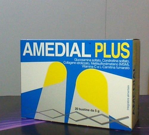 AMEDIAL PLUS integratore alimentare per ossa ed articolazioni 20 bustine