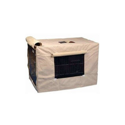 Precision Pet Tan Colored Indoor And Outdoor Crate Cover front-940455