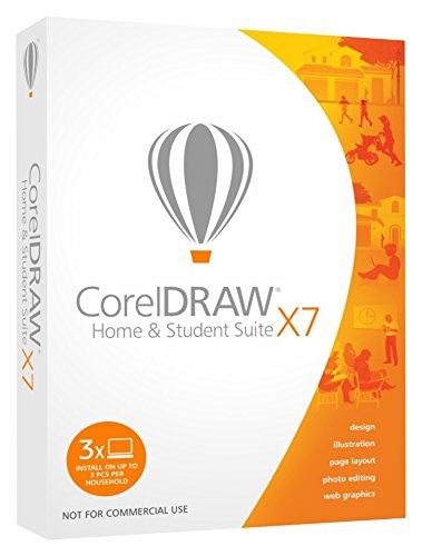 Corel CorelDRAW Home and Student Suite X7 (3-Users) (Draw Graphics Suite compare prices)