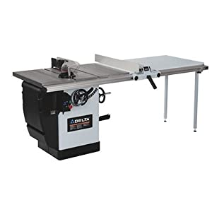 Delta 36 830la 10 inch left tilt 3 horsepower uni saw with for 10 inch delta table saw