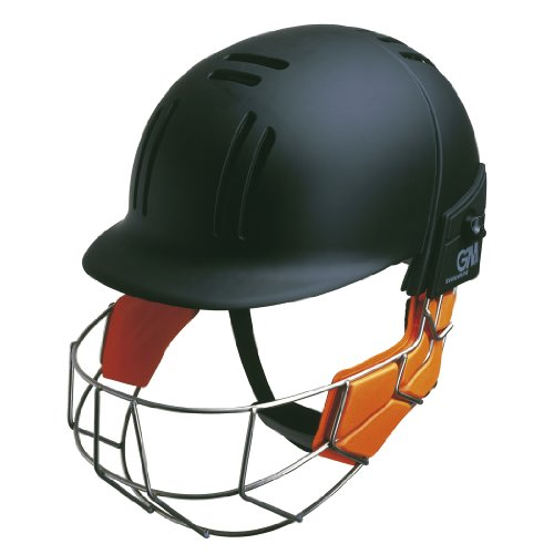 GM Hero Cricket Helmet Black Senior