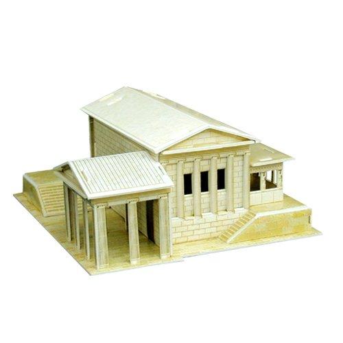 Jigsaw 3D Puzzle Famous Architecture Series - Erechtheum - 1