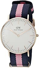 Comprar Daniel Wellington 0505DW - Reloj con correa de acero para mujer, color blanco / gris