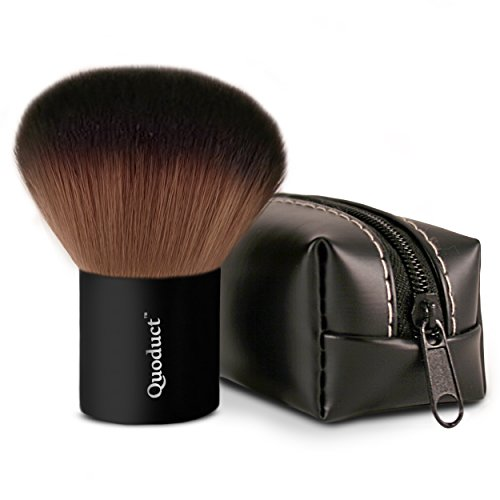 Kabuki Makeup Brush with Zebra Case…