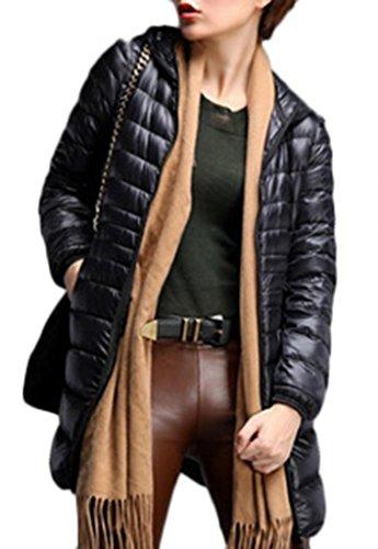 Cloudy Arch Women's Winter Outwear Light Down Coat Hooded Jacket vitesse arch