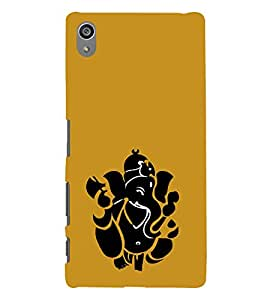 printtech Lord God Ganesha Abstract Back Case Cover for Sony Xperia Z5 Premium Dual
